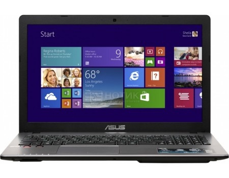 Ноутбук ASUS X550ZE-XX216T (15.6 LED/ FX-Series FX-7500 2100MHz/ 6144Mb/ HDD 1000Gb/ AMD Radeon R5 M230 2048Mb) MS Windows 10 Home (64-bit) [90NB06Y2-M03350]