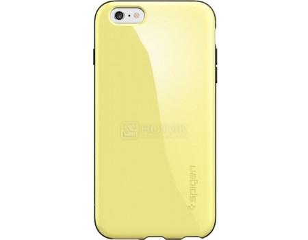 Фотография товара чехол-накладка Spigen SGP для iPhone 6/6s Plus Capella Case SGP11086, Полиуретан/Поликарбонат, Lemon Yellow, Желтый (50784)