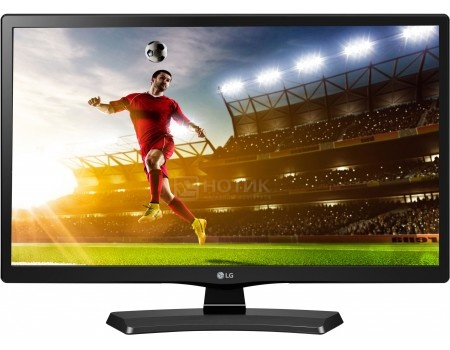 Телевизор LG 28 28MT48S-PZ, LED, HD, Smart TV (webOS 2.0), Черный lg телевизор lg 22mt58vf pz
