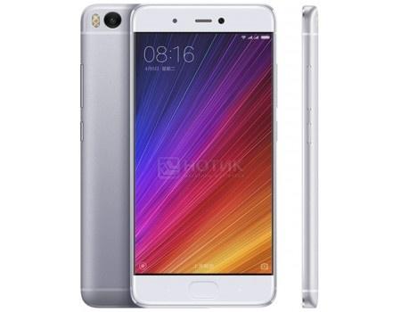 Смартфон Xiaomi Mi 5S 32Gb Silver (Android 6.0 (Marshmallow)/MSM8996 2150MHz/5.1 (1920x1080)/4096Mb/32Gb/4G LTE 3G (EDGE, HSDPA, HSPA+)) [6954176830241]