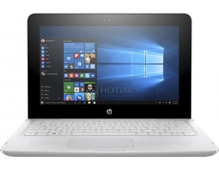 Фотография товара ноутбук HP x360 11-ab014ur (11.6 IPS (LED)/ Celeron Dual Core N3060 1600MHz/ 4096Mb/ HDD 500Gb/ Intel HD Graphics 400 64Mb) MS Windows 10 Home (64-bit) [1JL51EA] (50882)