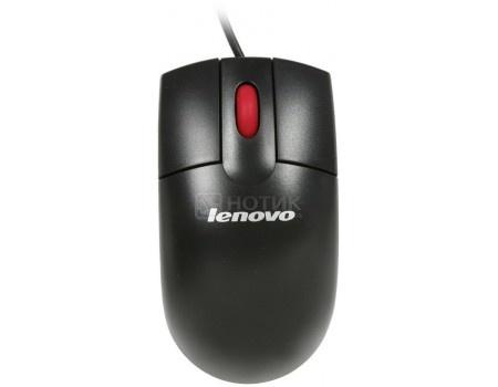 Мышь проводная Lenovo 300 USB Mouse, 1000dpi, Черный, GX30M39704