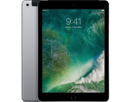 Планшет Apple iPad 9.7 128Gb Wi-Fi + Cellular Space Gray (iOS 10/A9 1840MHz/9.7 2048x1536/2048Mb/128Gb/4G LTE ) [MP262RU/A] apple ipad mini 4 wi fi cellular 16gb space gray