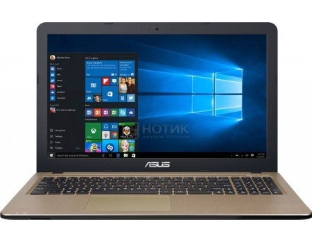 Ноутбук ASUS R540YA-XO112T (15.6 LED/ E-Series E1-7010 1500MHz/ 2048Mb/ HDD 500Gb/ AMD Radeon R2 series 64Mb) MS Windows 10 Home (64-bit) [90NB0CN1-M02300]