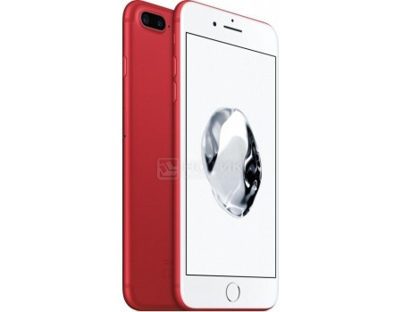 Защищенные смартфоны Apple iPhone 7 Plus 128Gb Red (iOS 10/A10 Fusion 2340MHz/5.5 (1920x1080)/3072Mb/128Gb/4G LTE 3G (EDGE, HSDPA, HSPA+)) [MPQW2RU/A] sea dual usb data sync battery charging dock cradle w power adapter for htc sensation 4g g14