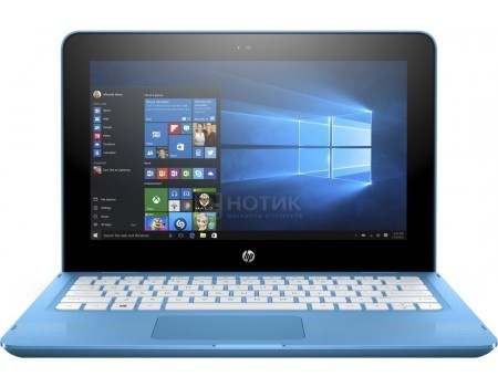 Фотография товара ноутбук HP x360 11-ab011ur (11.6 IPS (LED)/ Pentium Quad Core N3710 1600MHz/ 4096Mb/ HDD 500Gb/ Intel HD Graphics 405 64Mb) MS Windows 10 Home (64-bit) [1JL48EA] (51006)