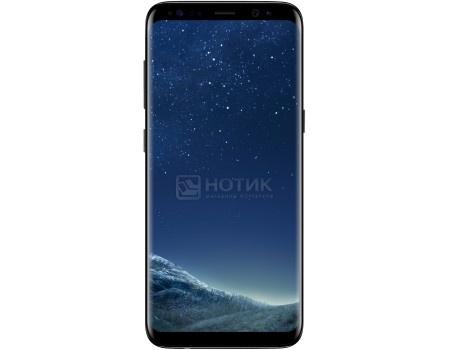 "Фотография товара смартфон Samsung Galaxy S8 64Gb SM-G950FZ Midnight Black (Android 7.0 (Nougat)/Exynos 8895 2300MHz/5.80"" 2960х1440/4096Mb/64Gb/4G LTE  ) [SM-G950FZKDSER] (51020)"