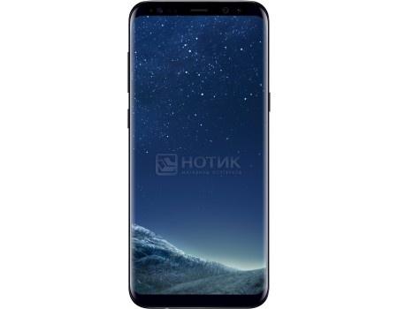 Смартфон Samsung Galaxy S8  64Gb SM-G955FZ Midnight Black (Android 7.0 (Nougat)/Exynos 8895 2300MHz/6.2* 2960х1440/4096Mb/64Gb/4G LTE ) [SM-G955FZKDSER], арт: 51027 - Samsung