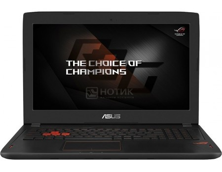 Фотография товара ноутбук ASUS ROG GL502VS-FY335T (15.6 IPS (LED)/ Core i7 7700HQ 2800MHz/ 16384Mb/ HDD+SSD 1000Gb/ NVIDIA GeForce® GTX 1070 8192Mb) MS Windows 10 Home (64-bit) [90NB0DD1-M04630] (51029)