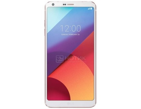 Смартфон LG G6 H870DS White (Android 7.0 (Nougat)/MSM8996 2350MHz/5.7