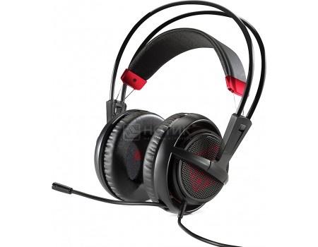 Гарнитура проводная HP OMEN Headset SteelSeries, Черный X7Z95AA