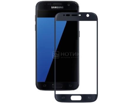 Защитное стекло Deppa для Samsung Galaxy S7 с рамкой, Черное  62000