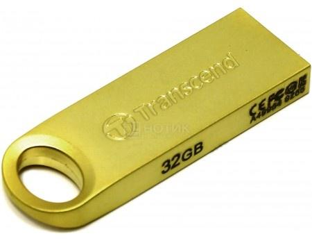 Флешка Transcend 32Gb JetFlash 520 TS32GJF520G USB 2.0 Золотистый
