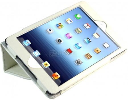 Чехол-подставка IT Baggage для планшета iPad Mini 4, Искусственная кожа, Белый ITIPMINI4-0