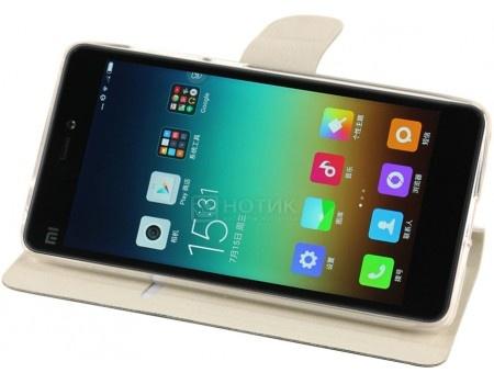 Чехол-подставка IT Baggage для смартфона Xiaomi Mi 4C, Искусственная кожа, Черный ITXMMI4C-1
