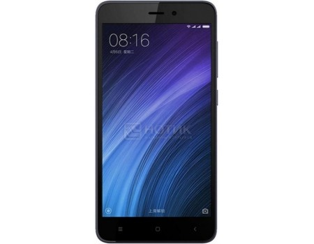 Смартфон Xiaomi Redmi 4A Gray (Android 6.0 (Marshmallow)/MSM8917 1400MHz/5.0 1280x720/2048Mb/32Gb/4G LTE ) [REDMI4AGR32GB] смартфон sony xperia x compact white android 6 0 marshmallow msm8956 1800mhz 4 6 1280x720 3072mb 32gb 4g lte [f5321white]