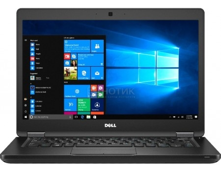 Ноутбук Dell Latitude 5480 (14.0 LED/ Core i5 7200U 2500MHz/ 4096Mb/ HDD 500Gb/ Intel HD Graphics 620 64Mb) MS Windows 10 Professional (64-bit) [5480-9163]