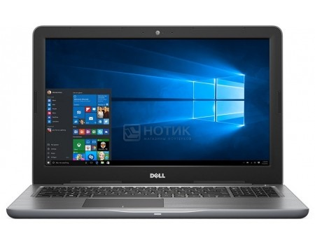 Фотография товара ноутбук Dell Inspiron 5565 (15.6 TN (LED)/ A10-Series A10-9600P 2400MHz/ 8192Mb/ HDD 1000Gb/ AMD Radeon R7 M445 4096Mb) MS Windows 10 Home (64-bit) [5565-7812] (51301)