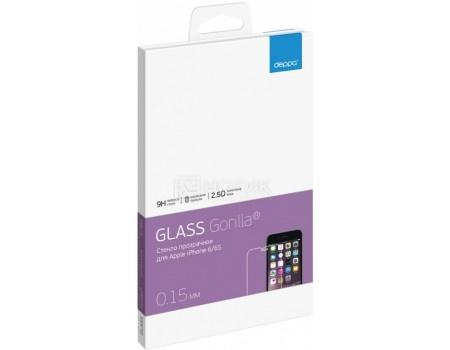 Защитное стекло Deppa, Gorilla для Apple iPhone 6/6S, Прозрачный 61984