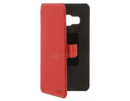 Чехол-книжка TFN Flip Cover для смартфона J2 Prime SM-G532F, Пластик, Красный BC-05-017PURD от Нотик