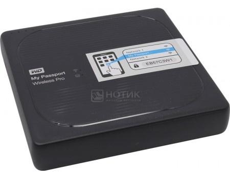 "Внешний жесткий диск Western Digital 4Tb WDBSMT0040BBK-RESN My Passport Wireless Pro 2.5"" USB 3.0, Wi-Fi Черный"