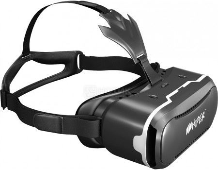 Очки виртуальной реальности для смартфонов HIPER VR VRQ, Черный, арт: 51360 - HIPER