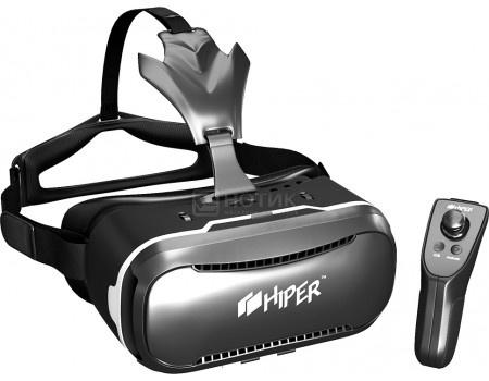 Фотография товара очки виртуальной реальности для смартфонов HIPER VR VRQ+ , Черный (51363)