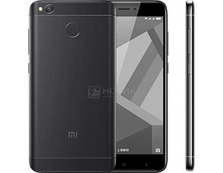 Смартфон Xiaomi Redmi 4X Black (Android 6.0 (Marshmallow)/MSM8940 1400MHz/5.0* 1280x720/3072Mb/32Gb/4G LTE ) [REDMI4XBL32GB], арт: 51480 - Xiaomi