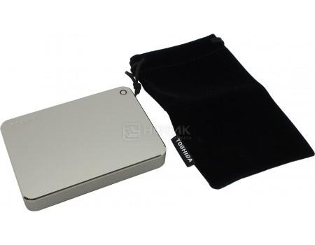 """Внешний жесткий диск Toshiba 3Tb HDTW130ECMCA Canvio Premium for Mac 2.5"""" USB 3.0, Серебристый от Нотик"""