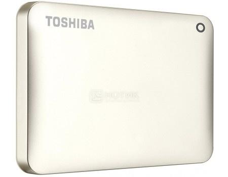 "Внешний жесткий диск Toshiba 500Gb HDTC805EC3AA Canvio Connect II 2.5"" USB 3.0, Золотистый"