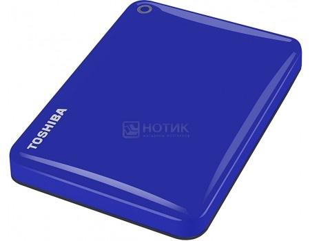 "Внешний жесткий диск Toshiba 500Gb HDTC805EL3AA Canvio Connect II 2.5"" USB 3.0, Синий, арт: 51565 - Toshiba"