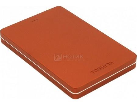 "Внешний жесткий диск Toshiba 500Gb HDTH305ER3AA Canvio Alu 2.5"" USB 3.0, Красный, арт: 51573 - Toshiba"