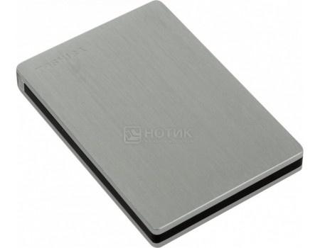 "Внешний жесткий диск Toshiba 1Tb HDTD210ESMEA Canvio Slim for Mac 2.5"" USB 3.0, Серебристый"