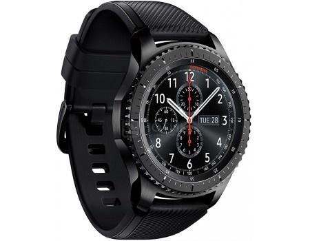 Смарт-часы Samsung Gear S3 Frontier SM-R760, Темно-серый SM-R760NDAASER