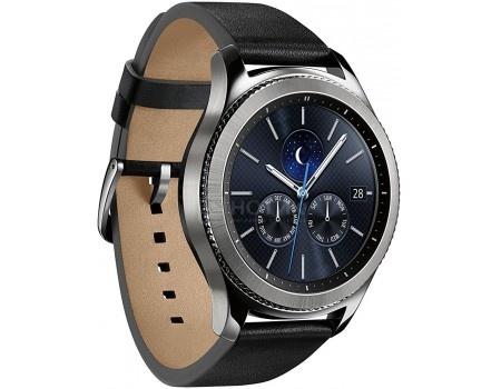 Смарт-часы Samsung Gear S3 Classic SM-R770, Cеребристый SM-R770NZSASER