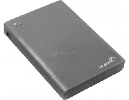 """Внешний жесткий диск Seagate Wireless Plus 2Tb STCV2000200 2.5"""" USB 3.0, Wi-Fi Серый"""