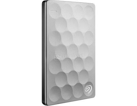 """Внешний жесткий диск Seagate 2Tb Backup Plus Ultra Slim STEH2000200 2.5"""" USB 3.0 Серебристый"""