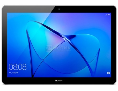 Планшет Huawei MediaPad T3 10 LTE (Android 7.0 (Nougat)/MSM8917 1400MHz/10.1* 1280x800/2048Mb/16Gb/4G LTE ) [AGS-L09 GREY], арт: 51780 - Huawei