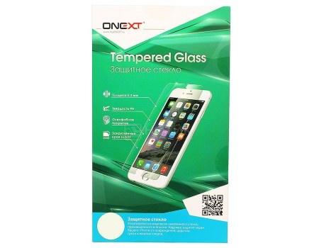Защитное стекло ONEXT для смартфона Samsung Galaxy A3 2017, 3D, Черный 41310