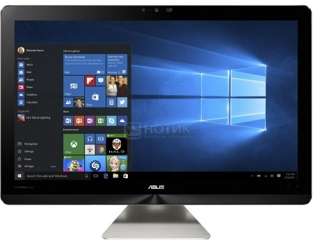 Моноблок ASUS Zen AiO ZN241ICGK-RA006T (23.8 IPS (LED)/ Core i3 7100U 2400MHz/ 4096Mb/ HDD 1000Gb/ NVIDIA GeForce GT 940MX 2048Mb) MS Windows 10 Home (64-bit) [90PT01V1-M00210]