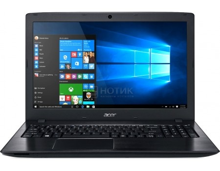 Ноутбук Acer Aspire E5-575G-53S6 (15.6 LED/ Core i5 7200U 2500MHz/ 8192Mb/ HDD 1000Gb/ NVIDIA GeForce GT 940MX 2048Mb) Linux OS [NX.GDWER.034]