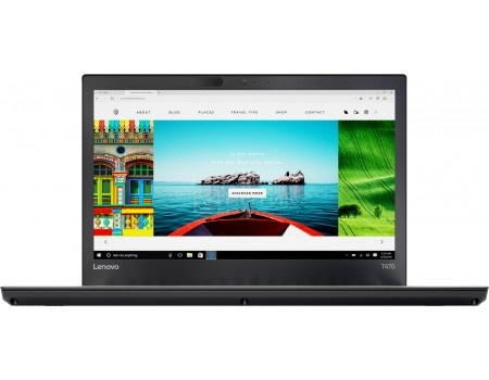 Ноутбук Lenovo ThinkPad T470 (14.0 IPS (LED)/ Core i5 7200U 2500MHz/ 8192Mb/ HDD+SSD 1000Gb/ Intel HD Graphics 620 64Mb) MS Windows 10 Professional (64-bit) [20HD005PRT]