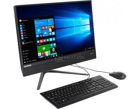 Моноблок Lenovo IdeaCentre 510-23 (23.0 LED/ Pentium Dual Core G4560T 2900MHz/ 4096Mb/ HDD 500Gb/ Intel HD Graphics 610 64Mb) Free DOS [F0CD00DARK]
