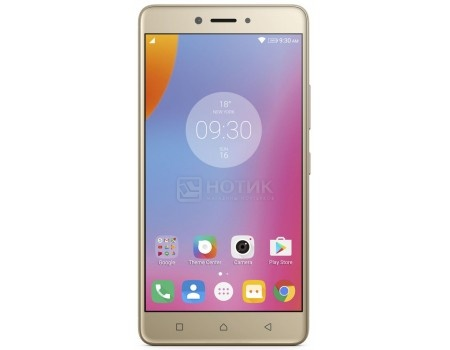 Смартфон Lenovo K6 Note K53A48 Gold (Android 6.0 (Marshmallow)/MSM8937 1400MHz/5.5