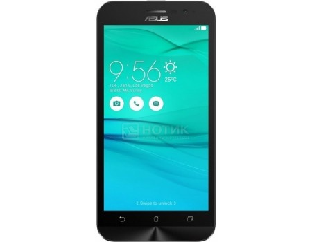 Смартфон ASUS Zenfone Go ZB500KL-1A111RU Charcoal Black (Android 6.0 (Marshmallow)/MSM8916 1200MHz/5.0