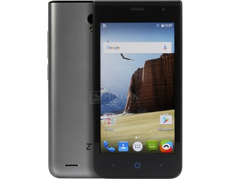 """Смартфон ZTE Blade A210 Silver (Android 6.0 (Marshmallow)/MT6735M 1000MHz/4.5"""" 854x480/1024Mb/8Gb/4G LTE ) [6934933079625] от Нотик"""