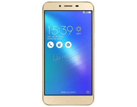 Смартфон ASUS Zenfone 3 Max ZC553KL-4G024RU Sand Gold (Android 6.0 (Marshmallow)/MSM8937 1400MHz/5.5
