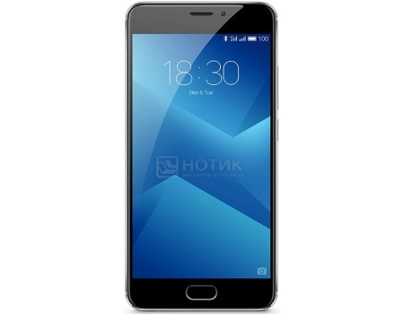 Смартфон Meizu M5 Note 16Gb Gray (Android 6.0 (Marshmallow)/MT6755 1800MHz/5.5 1920x1080/3072Mb/16Gb/4G LTE ) [M621H-16-GR] смартфон sony xperia x compact white android 6 0 marshmallow msm8956 1800mhz 4 6 1280x720 3072mb 32gb 4g lte [f5321white]