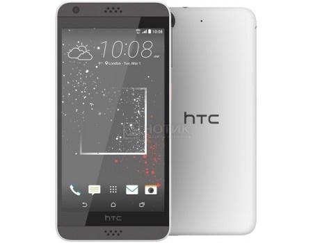 Смартфон HTC Desire 530 Stratus White (Android 6.0 (Marshmallow)/MSM8909 1100MHz/5.0 1280x720/1536Mb/16Gb/4G LTE ) [99HAHW066-00] смартфон sony xperia x compact white android 6 0 marshmallow msm8956 1800mhz 4 6 1280x720 3072mb 32gb 4g lte [f5321white]