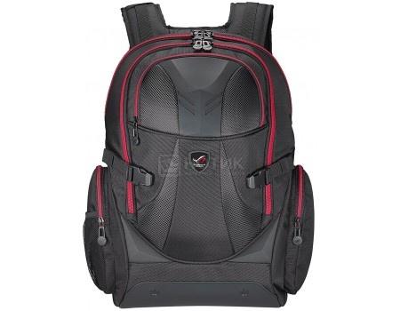 Рюкзак 17&* ASUS ROG XRanger, Баллистический нейлон/резина, Черный 90XB0310-BBP100, арт: 52057 - ASUS